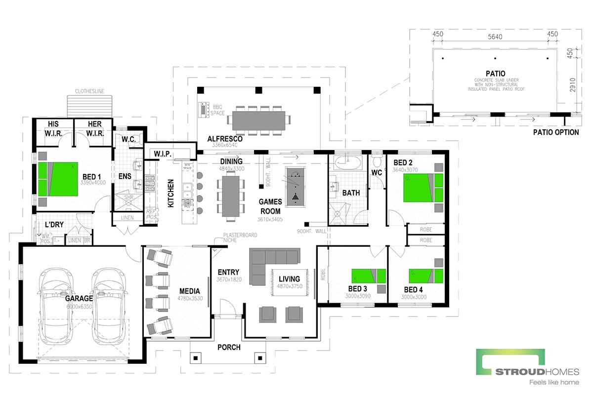 Koru 260 Mountain Floor Plan