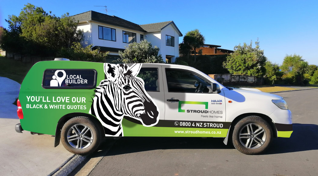 Stroud Homes Auckland North vehicle