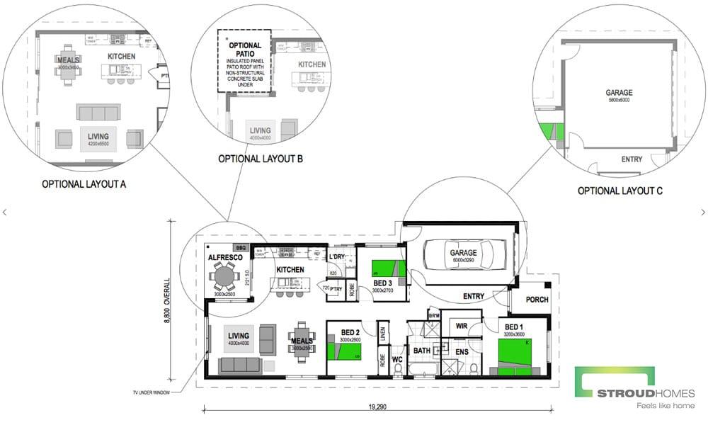 Fantail 153 Floor Plan