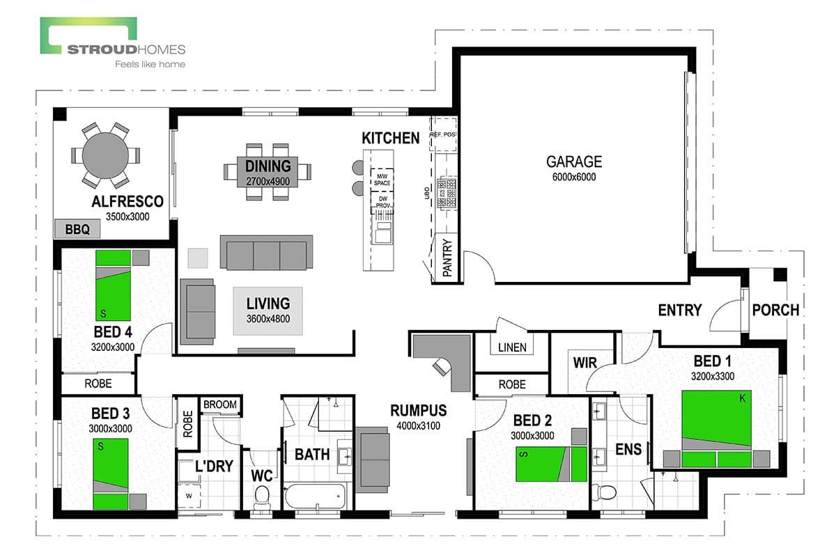 Fantail 212 Floor Plan