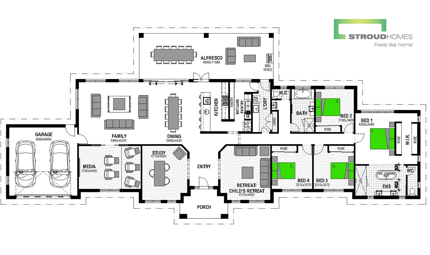 Matakana 378 Floor Plan