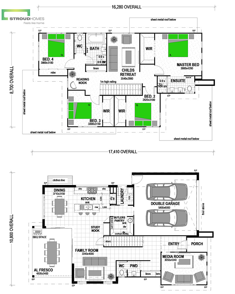Piha 255 Urban Floor Plan