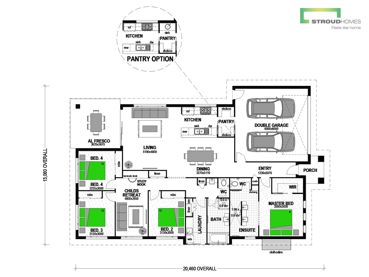 Tui 227 Mountain Floor Plan