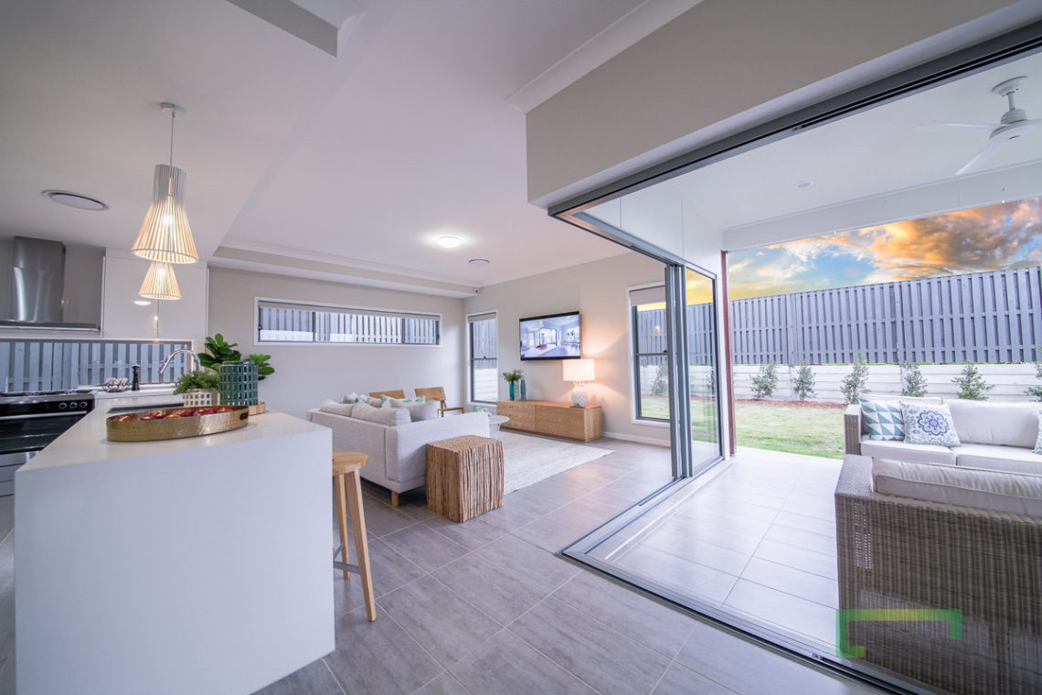 Piha 303 Kitchen, Living & Alfresco Areas