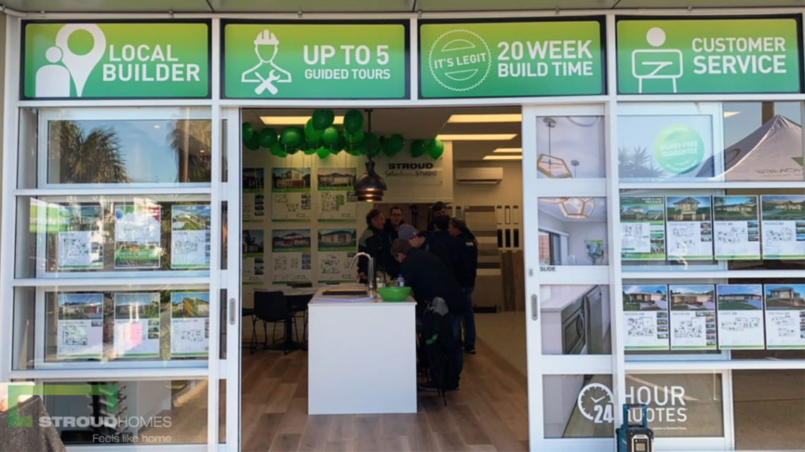 Stroud-Homes-New-Zealand-Auckland-South-Grand-Opening-Day-Display-Centre-Shop-Front