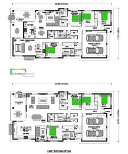 Chatham 255 Dual Occupancy Classic Floor Plan
