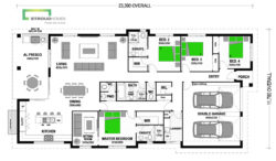 Chatham 255 Shared Living Classic Floor Plan