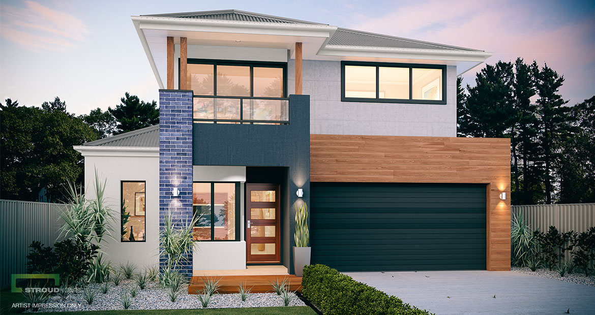 Kauri 280 Two Storey Home Design | Stroud Homes New Zealand