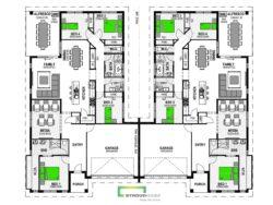 Wanaka 454 Duplex Floor Plan