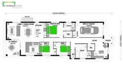 Brighton 170 Classic Floor Plan