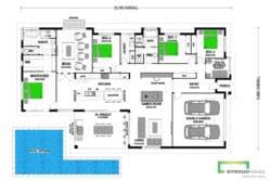 Kereru 295 Classic Floor Plan