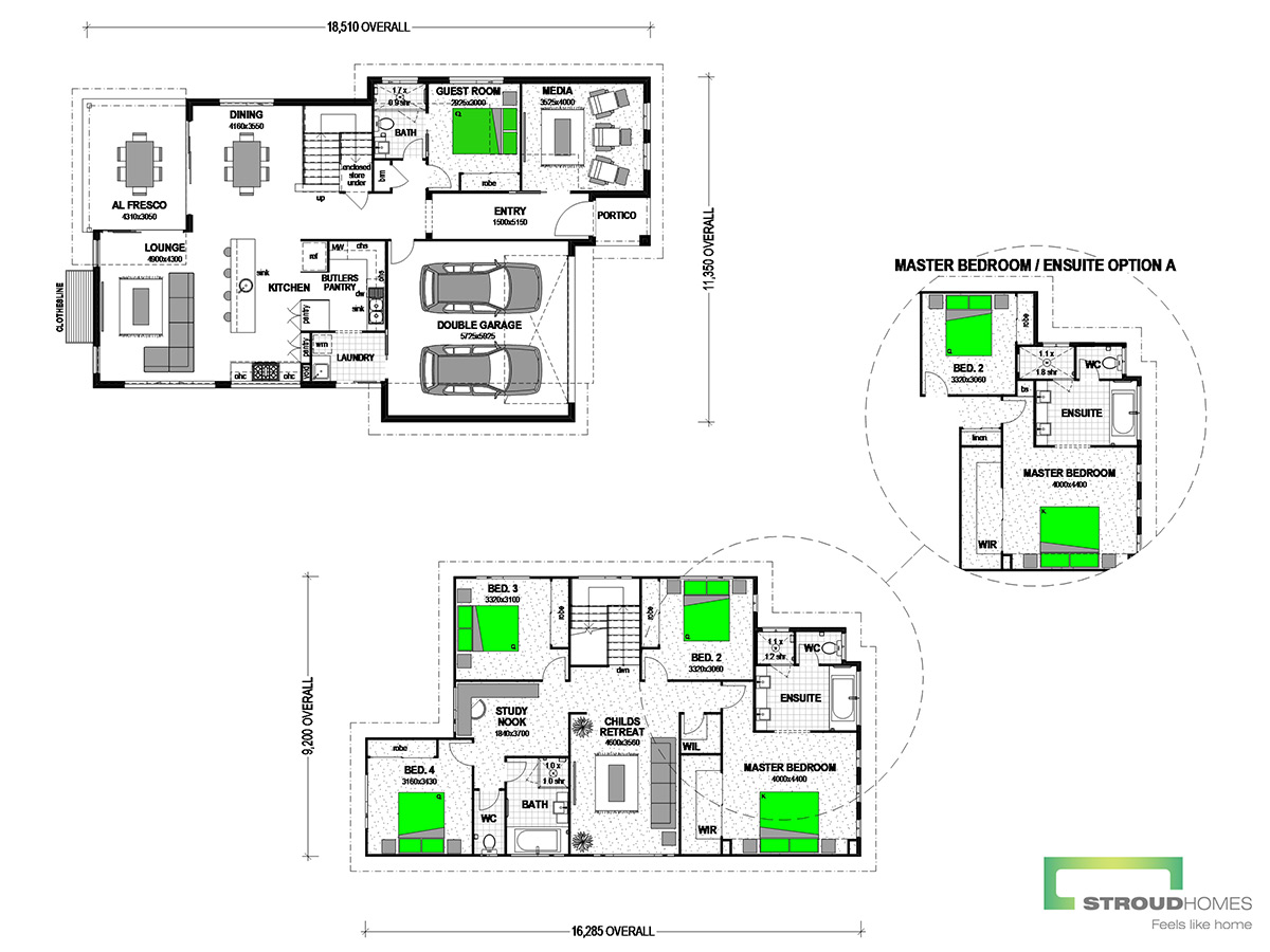 Piha 303 Classic Floor Plan