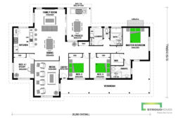 Puriri 220 Classic Floor Plan