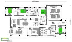 Takahē 268 Classic Floor Plan