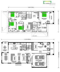 Karearea 365 Two Storey Classic Floor Plan