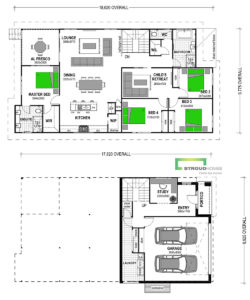 Kaydon 255 Sloped Block Classic Floor Plan
