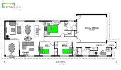 Brighton 172 Classic Floor Plan