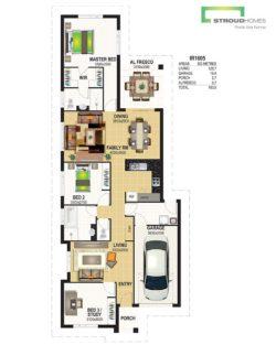 Kawau 160 Classic Floor Plan