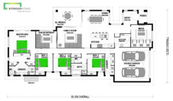 Opononi 256 Classic Floor Plan