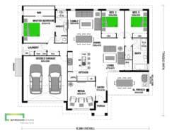 Sawyers 210 Classic Floor Plan
