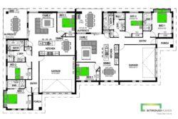 Alexandra 336 Duplex Floor Plan
