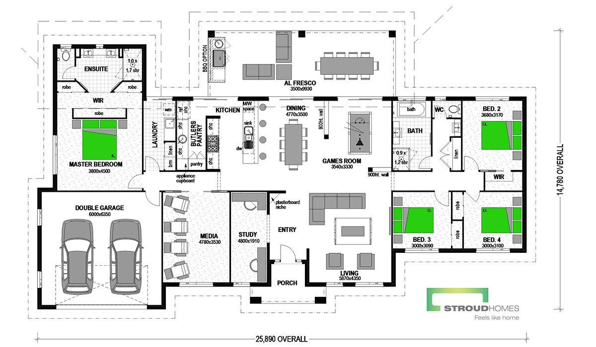 Koru 304 Classic Floor Plan