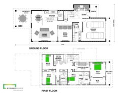 Onetangi 325 Double Storey Floor Plan