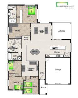 Tekapo 257 Floor Plan