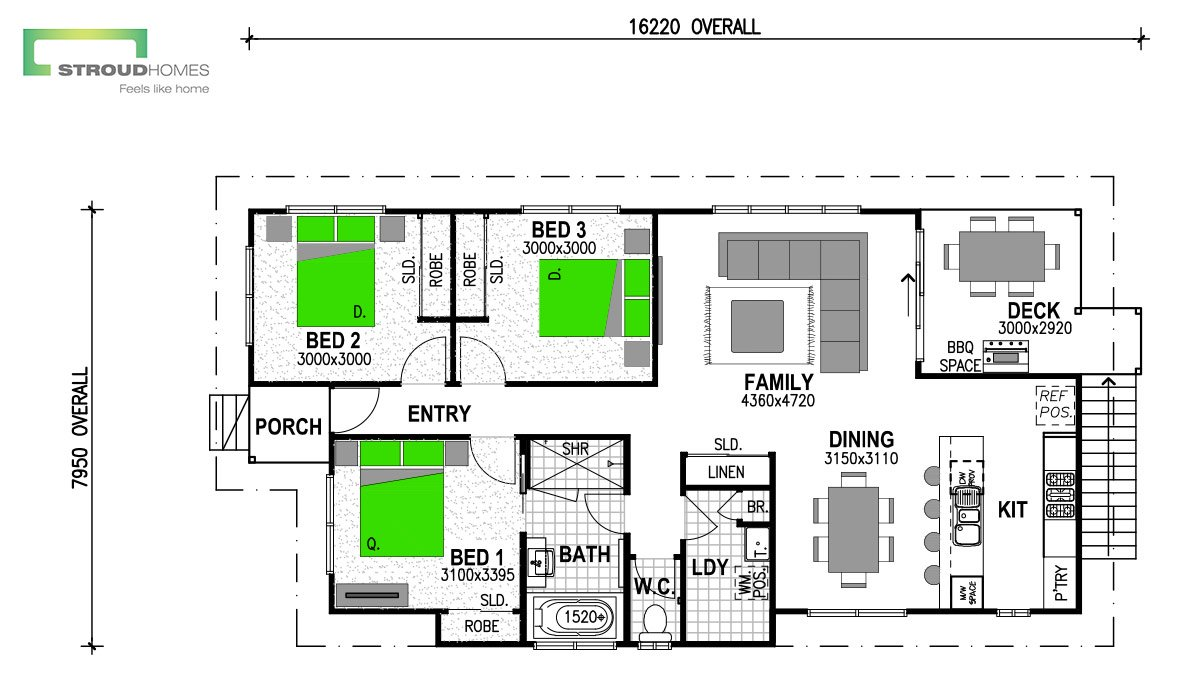 Warrington 110 Coast Floor Plan