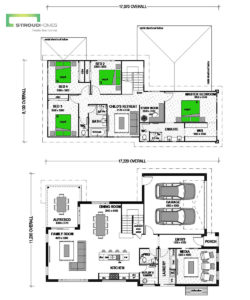 Cleveland 270 Two Storey Classic Floor Plan