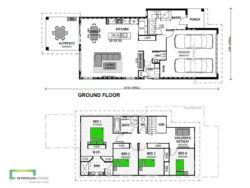 Omaha 240 Two Storey Floor Plan