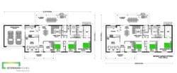 Karekare 240 Classic Floor Plan & No Garage Option