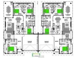 Motutapu 426 Duplex Floor Plan