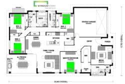 Papamoa 262 Classic Floor Plan