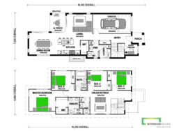 Delaware 209 Classic Two-Storey Floor Plan