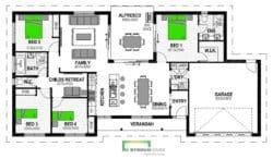 Clifton 204 Floor Plan
