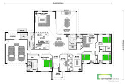 Manapouri 330 Skillion Floor Plan