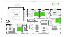 Kōwhai 237 Classic Floor Plan