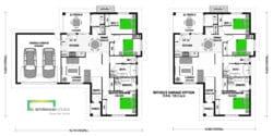 Marlborough 165 Classic Floor Plan & No Garage Floor Plan