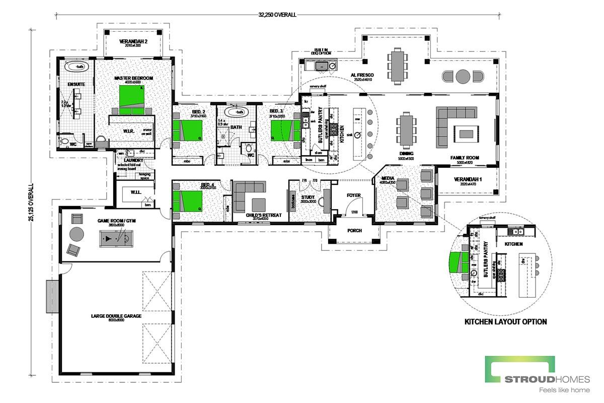 Pauanui 450 Grande Classic Floor Plan