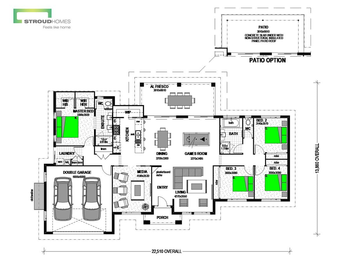 Koru 240 Classic Floor Plan