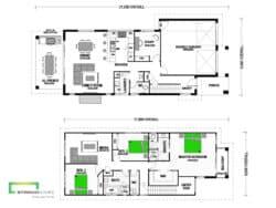 Tawharanui 261 Two Storey Classic Floor Plan