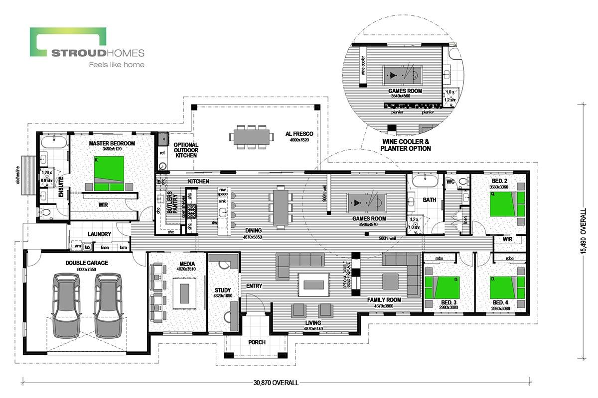 Koru 364 Classic Floor Plan