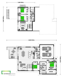 Whitmore 294 Sloped Section Classic Floor Plan