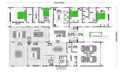 Cambridge 335 Scandi Floor Plan
