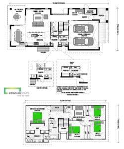 Waitomo 252 Double Storey Classic Floor Plan