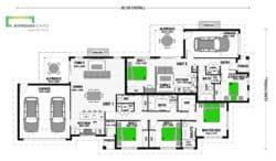 Chez Ali 266 Duplex Classic Floor Plan