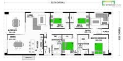Warrington 169 Manuka Floor Plan