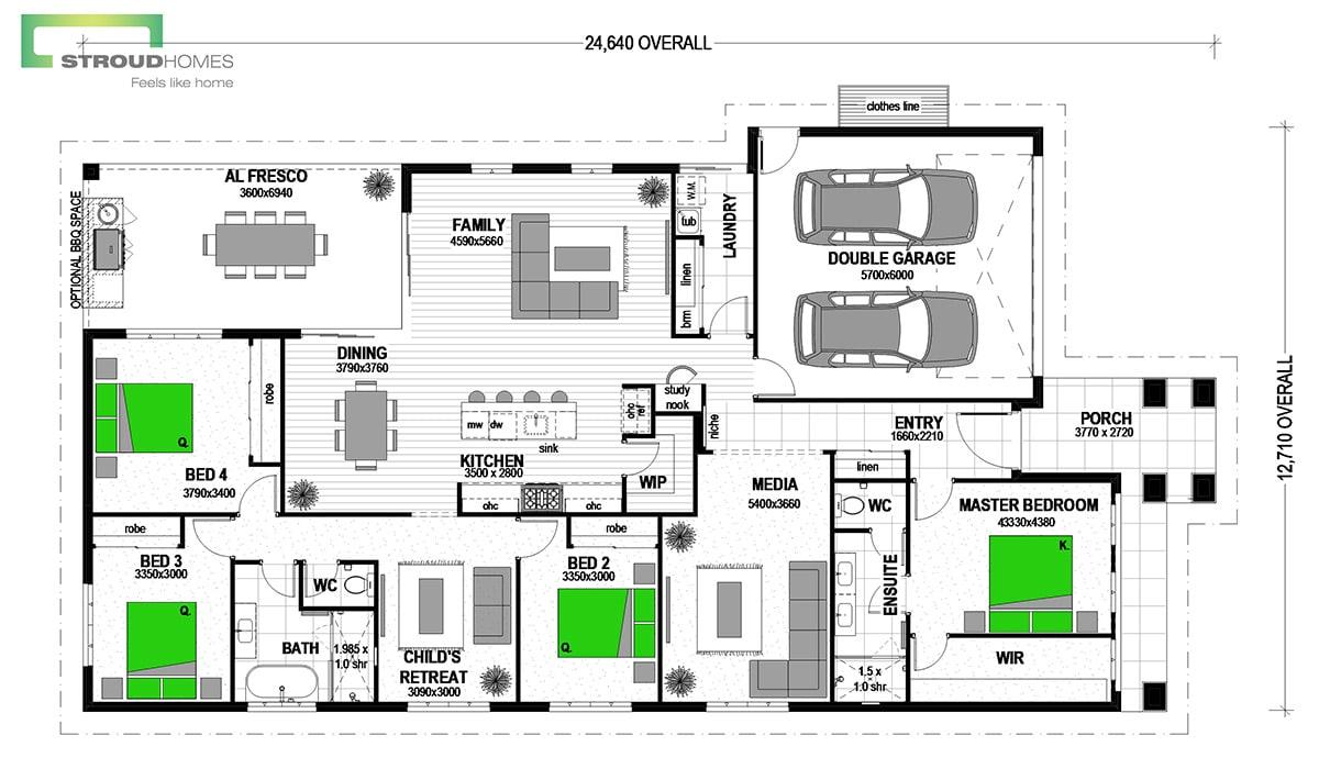Fitzroy 278 Californian Floor Plan