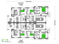 Newport 294 Duplex Classic Floor Plan